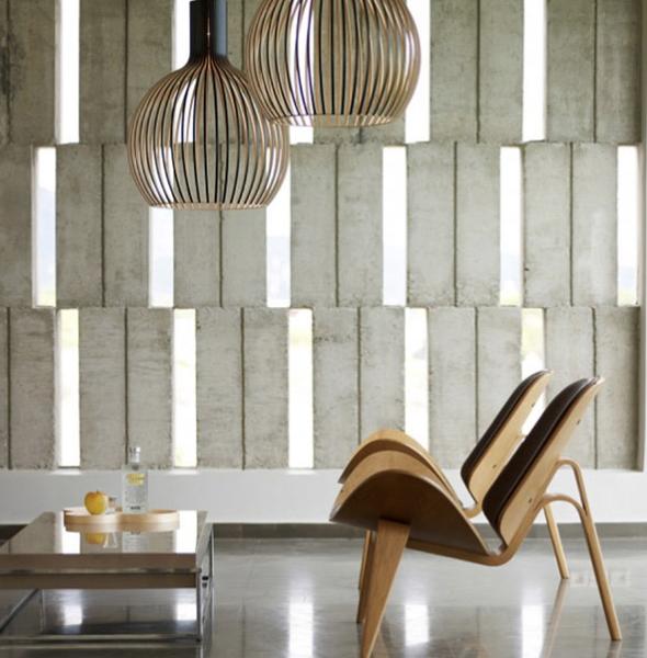 Designer setting met stoelen