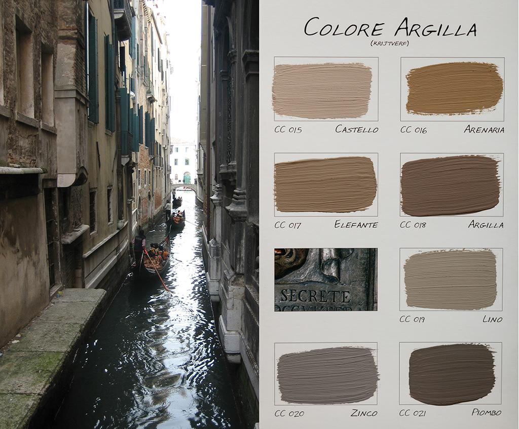 Krijtverf en kalkverf van Carte Colori - Kleuren Argilla